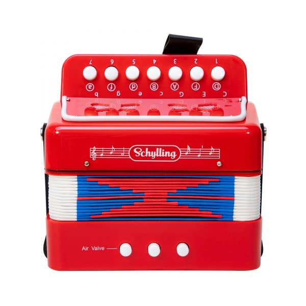 Schylling Little Red Accordion - Closed