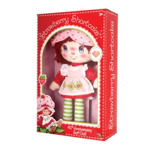 """13"""" Strawberry Shortcake Rag Doll"""