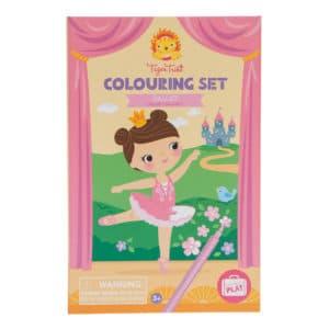 Ballet - Coloring Set