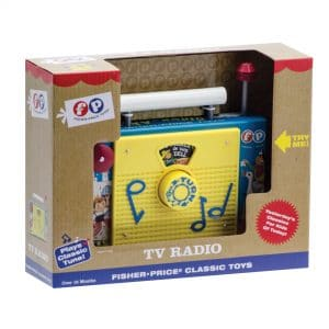 Fisher Price TV Radio Package Front Right