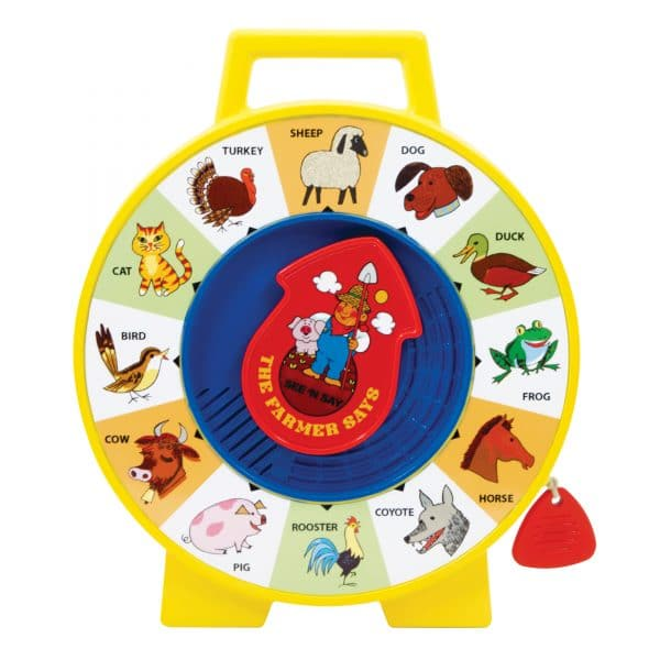 Fisher Price See N' Say Front