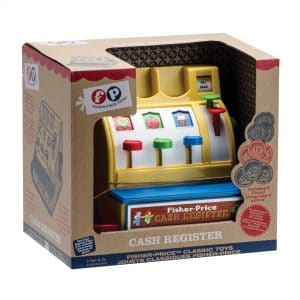 Fisher Price Cash Register Package Front Angle Right