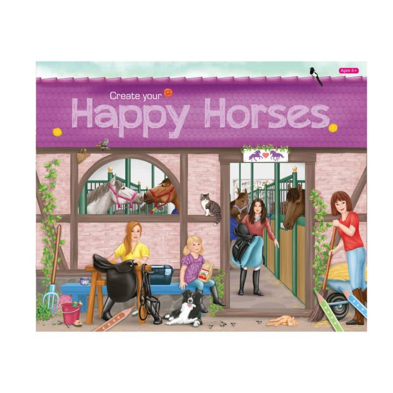 H.D. Happy Horses Bk