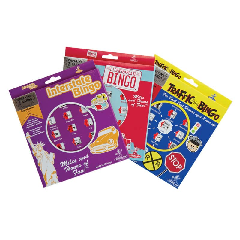Retro Travel Bingo