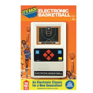 Electronic Basketball Hand Held Game Package Front