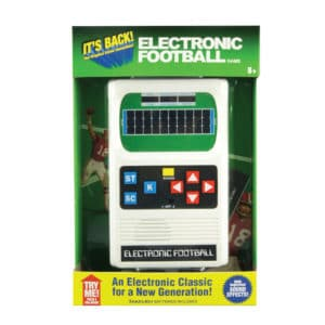Electronic Football Hand Held Game Package Front