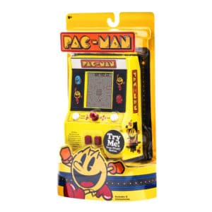 Pac-Man Retro Arcade Game Package Front Angle Left