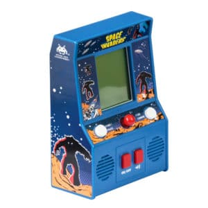 Space Invaders Retro Arcade Game Front Angle Right