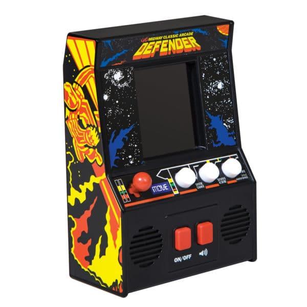 Defender Retro Arcade Game Right Angle