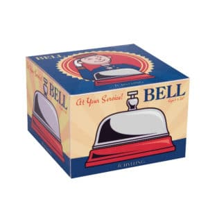 At Your Service Bell - Package Front Top Angle Right