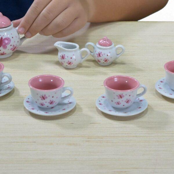 Butterfly tea set video