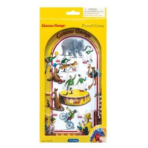 Curious George Pinball Package Front