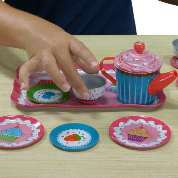 Cupcake tin tea set video