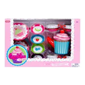 Cupcake Tin Tea Set
