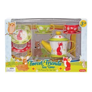 Forest Friends Tin Tea Set Package Front