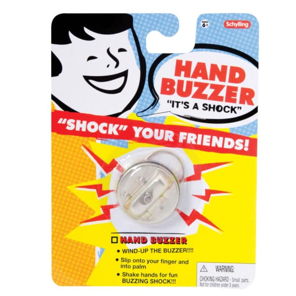 Jokes Hand Buzzer Package Front