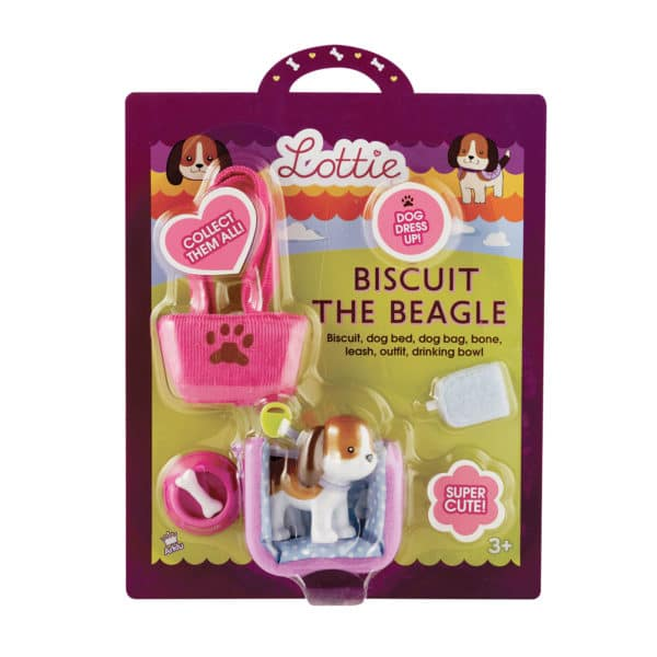 Lottie Biscuit The Beagle Package Front