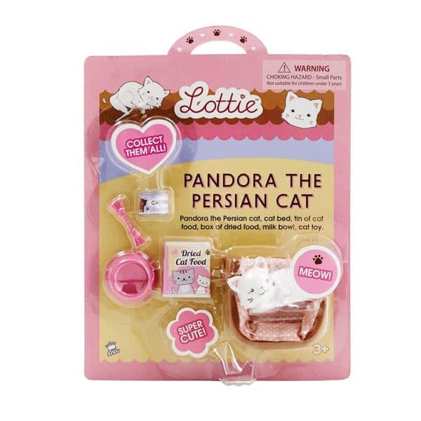 Lottie Pandora The Persian Cat Package Front