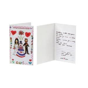 Royal Flower Girl – Lottie: Card Detail
