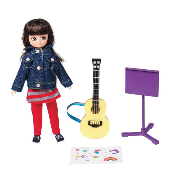 Music Class – Lottie Contents: Doll, Guitar, Music Stand