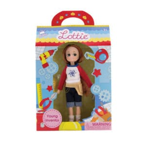 Young Inventor – Lottie Package Front