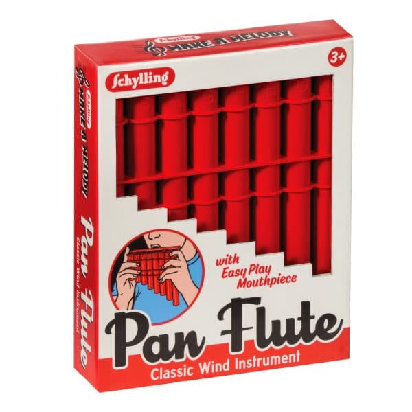 Pan Flute Red Package