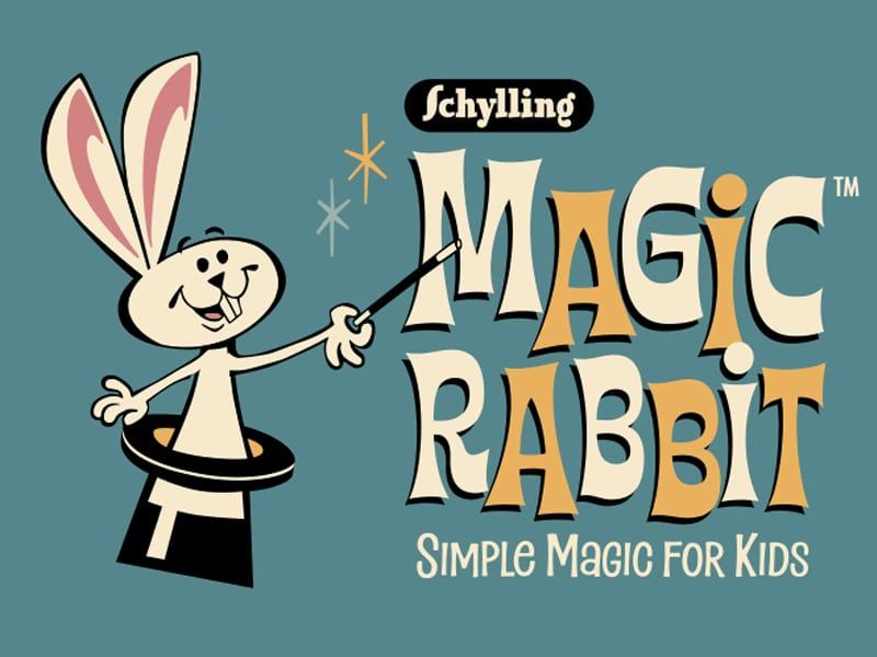 Schylling Magic Rabbit - Simple Magic for Kids - Logo