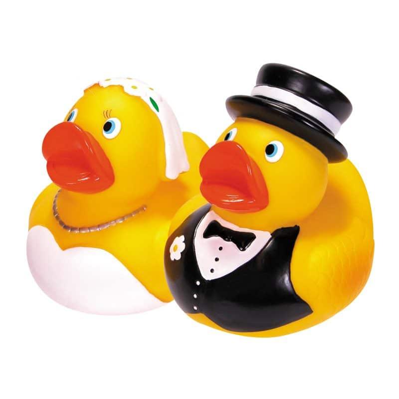 Rubber Duckies Bride & Groom