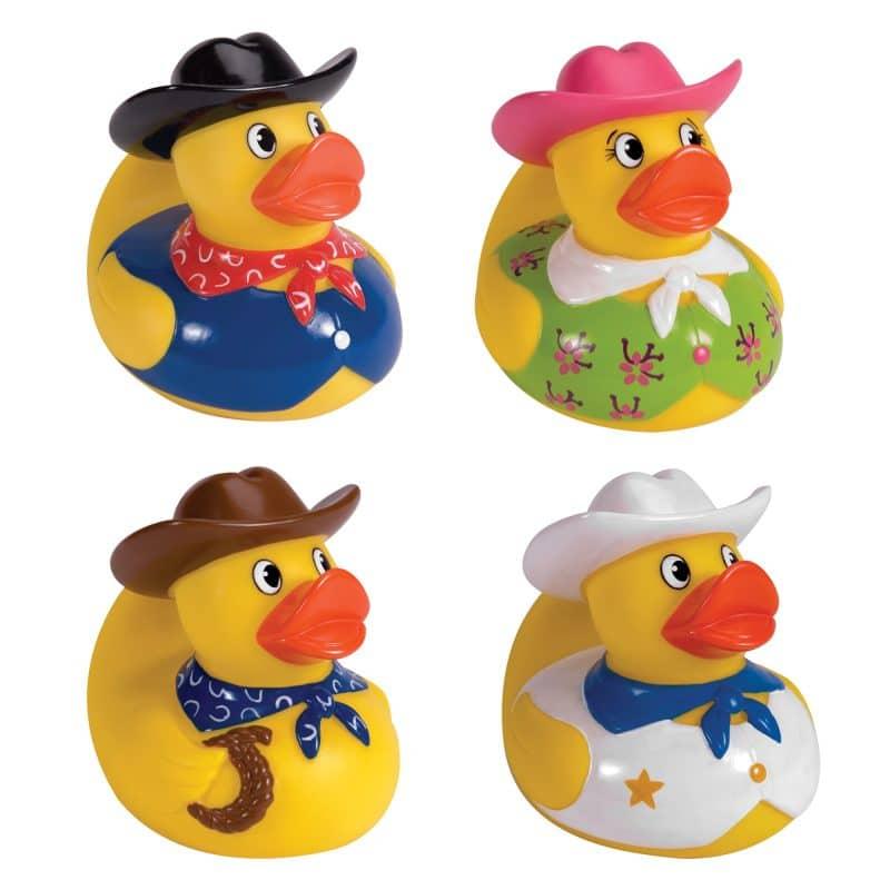 Cowboy Rubber Ducks