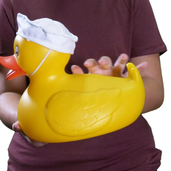 Large yellow rubber duck video