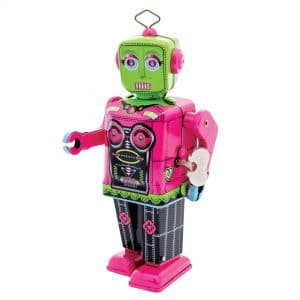 Roberta Robot Wind-Up