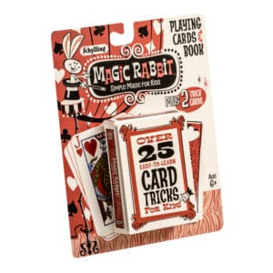 Magic Rabbit Card Tricks Package Front Angle Right