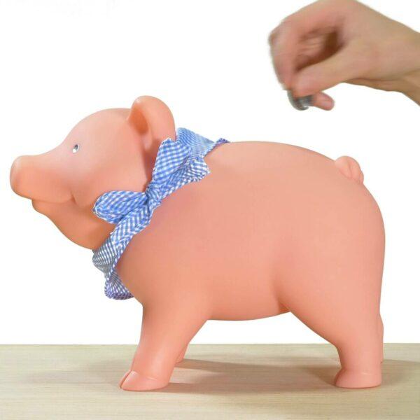 Rubber piggy bank video