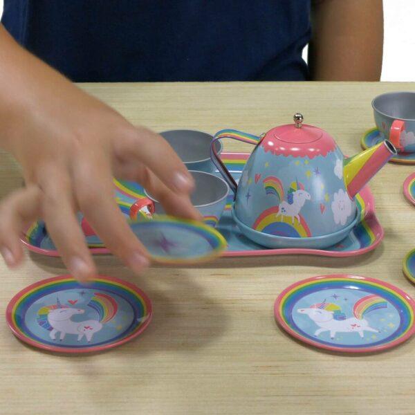 Unicorn tea set video
