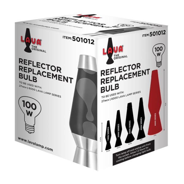 100W LAVA® Lamp Light Bulb Package