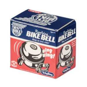 Best Bike Metal Bicycle Bell - Front Angle Left