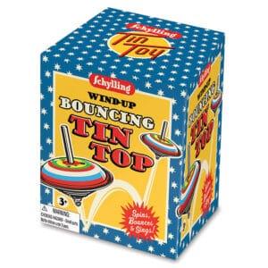 Bouncing Tin Top