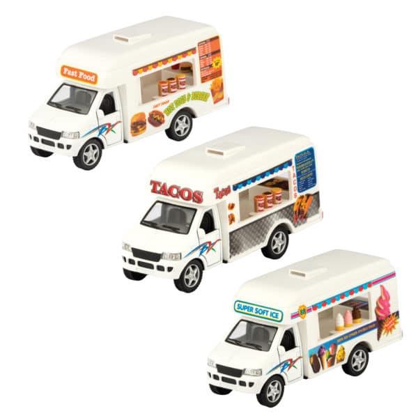 Diecast Food Trucks