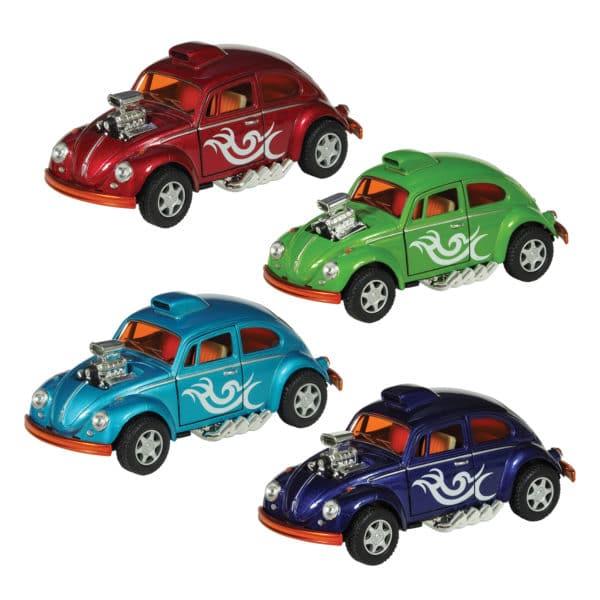 Diecast VW Beetle Drag Racer