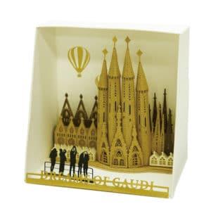paper nano - Sagrada Familia