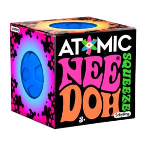 Atomic Nee Doh Blue and Pink Packaging