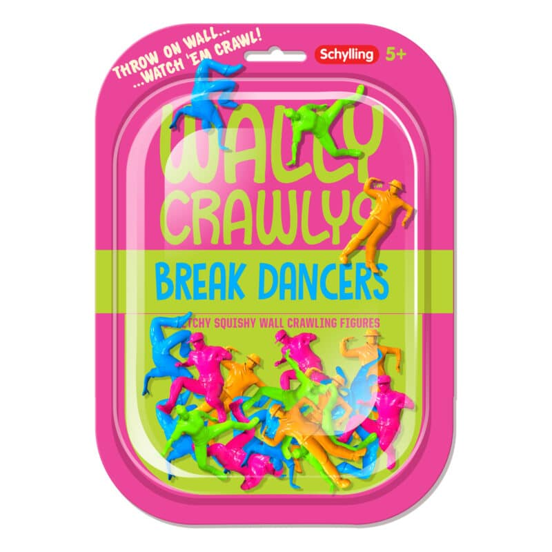 Wally Crawlys Breakdancers Package Front