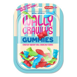 Wally Crawly Gummies Package Front
