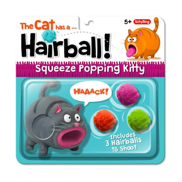 Hairball Kitty Package - Grey