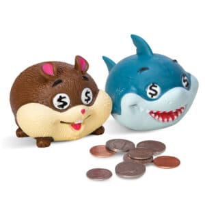 Money Munchers - Hamster and Shark with Coins