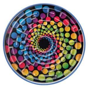 Tin BB Maze - Rainbow Dots