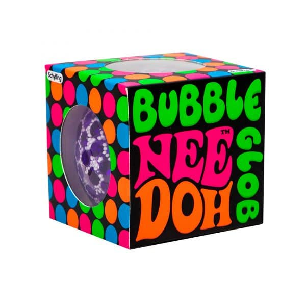 NeeDoh Bubble Glob Squeeze Ball in box