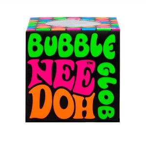 Nee Doh Bubble Glob Squeeze Ball in box front view