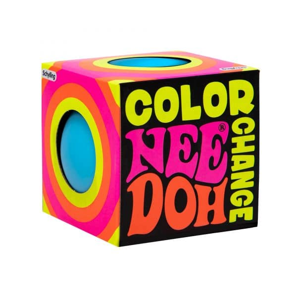 Nee Doh Color Change Package Front Angle Blue