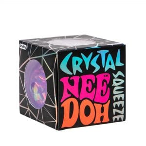 Crystal Squeeze Nee Doh Package Front Angle Purple